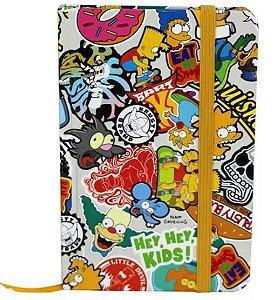Caderneta de Anotações Os Simpsons - Ícones