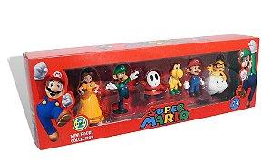 Coleção Mini Bonecos Super Mario Bros - Série 2