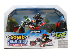 Moto Controle Remoto Sonic & Sega All-stars Racing - Shadow The Hedgehog