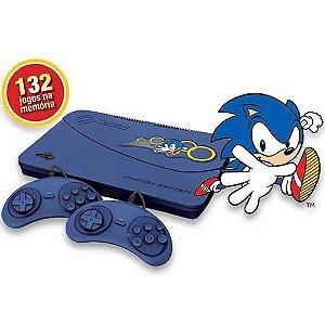 Master System Evolution Blue Tectoy c/ 132 Jogos na Memória