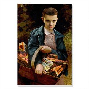 Quadro Canvas / Tela - Eleven - Stranger Things