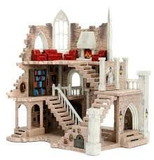 Castelo Torre Grifinória - Harry Potter c/ 2 Bonecos Nano Metal