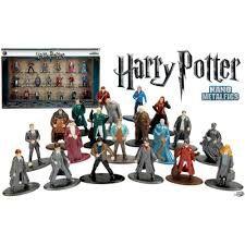 Coleção 20 Bonecos Nano Metal - Harry Potter