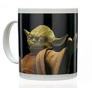 Caneca Termosensível Star Wars - Yoda