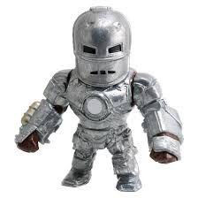 Figura Colecionável Metals Die Cast Homem de Ferro Clássico - Marvel