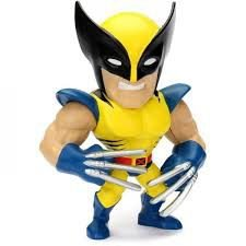 Figura Colecionável Metals Die Cast Marvel Wolverine - X Men