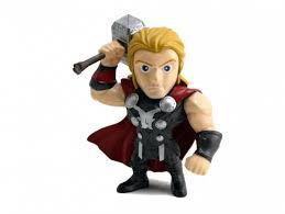 Boneco Colecionável Metals Die Cast Thor - Era de Ultron