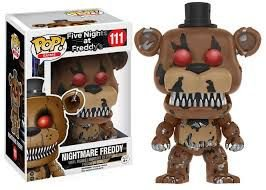 POP! Funko Five Nights at Freddy´s - Nightmare Freddy