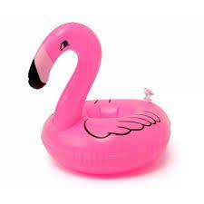 Boia Porta Copo ou Latinha Flamingo