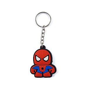 Chaveiro Emborrachado Cute - Homem Aranha