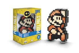 Luminária 8 Bit Pixel Pals - Super Mario Bros Nintendo