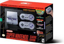 Super Nintendo Classic Edition - Console / 2Joysticks / 21 Jogos na Memoria