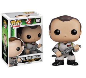 POP! Funko GhostBusters - Dr.Peter Venkman #104