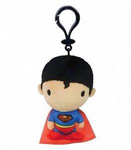 Chaveiro Pelúcia Clip On Super Homem - DC Comics