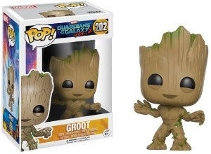 POP! Funko Marvel: Groot - Guardiões da Galáxia 2 # 202