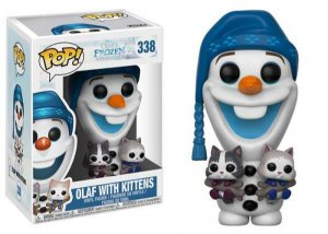 POP! Funko: Olaf With Kittens / Olaf com gatinhos - Frozen # 338