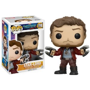POP! Funko Marvel: Star-Lord - Guardians of the Galaxy # 198