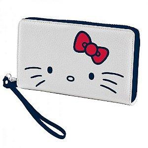 Carteira com Zíper e Alça Hello Kitty - SanRio