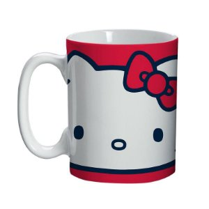Caneca Porcelana Mini 150ml - Hello Kitty