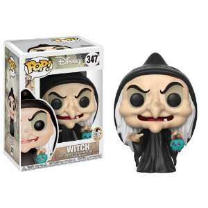 POP! Funko Disney: Witch / Bruxa - Branca de neve # 347