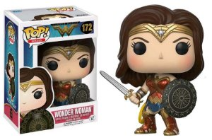 POP! Funko Heroes: Mulher maravilha - Wonder Woman # 172