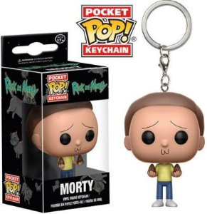 Chaveiro Pocket POP! Funko Rick and Morty - Morty