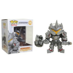 Super Size POP! Funko Games: Reinhardt - Overwatch # 178