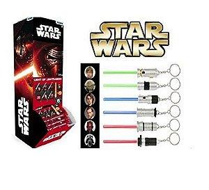 Chaveiro Sortidos Sabre de Luz c/ Led-  Star Wars