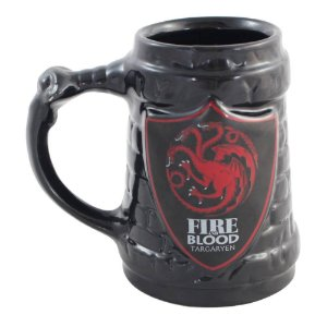 Caneca 3D 500ml Targaryen - Game of Thrones