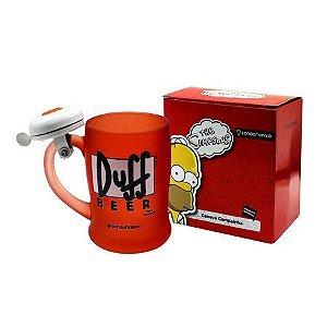 Caneca com Campainha - Duff Beer - Simpsons