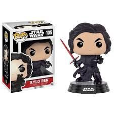 POP! Funko Kylo Ren Unmasked - Star Wars # 105