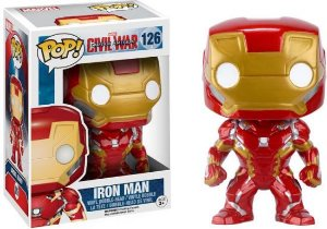 POP! Funko Marvel: Civil War- Iron Man / Homem de Ferro # 126