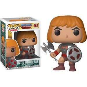 POP! Funko Television: Masters of the Universe - Battle Armor HE-MAN # 562