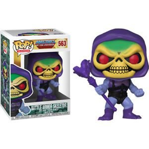 POP! Funko Television: Masters os the universe - Battle Armor Skeletor / Esqueleto # 563