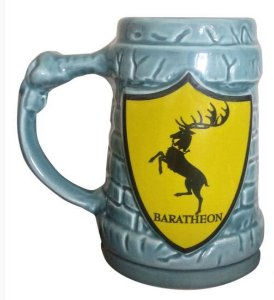 Caneca 3D 500ml Casa Baratheon - Game of Thrones