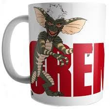 Caneca Porcelana 300ml - Mogways /  Gremlins