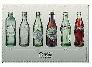 Jogo Americano e Porta Copos Coca Cola Garrafas