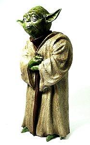 Miniatura em Resina Mestre Yoda - Guerra nas Estrelas
