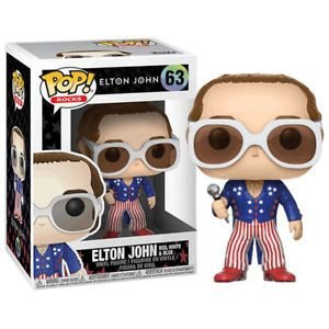 POP! Funko Rocks: Elton John, red, white & blue # 63
