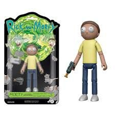 Funko! Action Figure: Morty articulado com acessórios - Rick and Morty