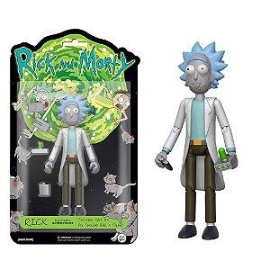 Funko! Action Figure: Rick articulado com acessórios - Rick and Morty