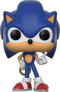 POP! Funko Games: SONIC with Ring - Sonic the Hedgehog # 283