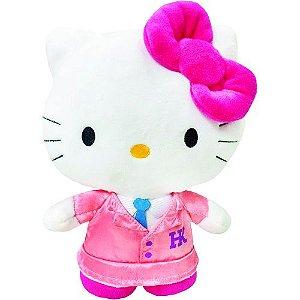 Pelúcia 20cm Hello Kitty Colegial - SanRio