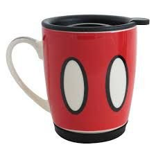 Caneca com Tampa 350ml Mickey - Disney