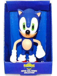 Boneco em Vinil Sonic 20Cm - Super Size Figure Collection
