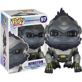 POP! Funko Super Sized Overwatch - Winston # 97
