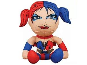 Pelúcia Super Hero Liga da Justiça - Harley Quinn - DC Comics