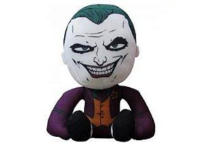 Pelúcia Super Hero Liga da Justiça - Coringa, Joker - DC Comics