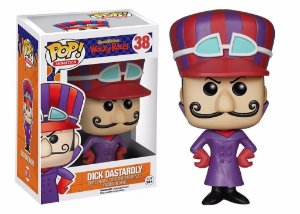 POP! Funko Animation: Dick Dastardly / Dick Vigarista # 38