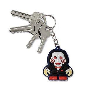 Chaveiro Emborrachado Cute JigSaw Jogos Mortais
